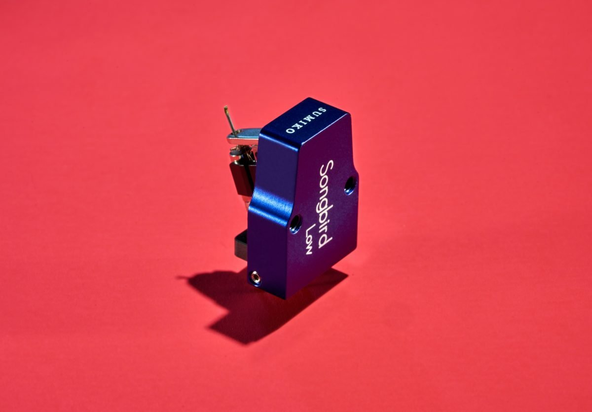Sumiko Songbird High-Output Moving Coil Phono Cartridge w/ Low-Mass Elliptical Stylus & Treated Aluminum Alloy Cantilever