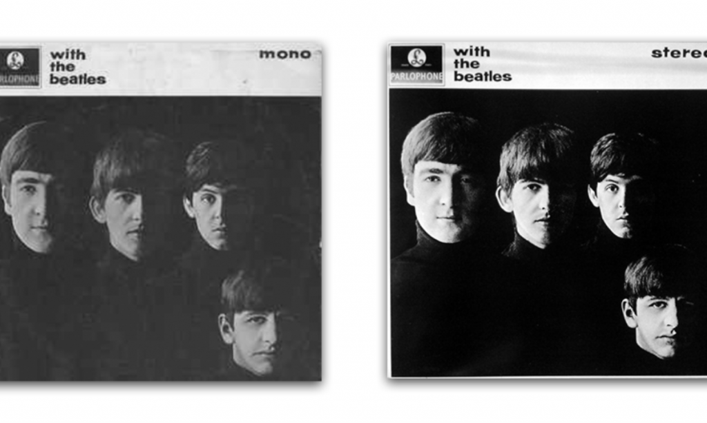 stereo vs mono record beatles